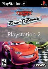 Image of Cars Race-O-Rama original video game for Playstation 2 classic game system. Rocket City Arcade, Huntsville Al. We ship used video games Nationwide