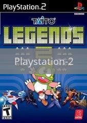 Image of Taito Legends 2 original video game for Playstation 2 classic game system. Rocket City Arcade, Huntsville Al. We ship used video games Nationwide