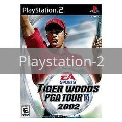 Image of Tiger Woods 2002 original video game for Playstation 2 classic game system. Rocket City Arcade, Huntsville Al. We ship used video games Nationwide