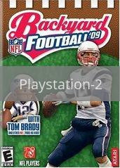 Image of Backyard Football 09 original video game for Playstation 2 classic game system. Rocket City Arcade, Huntsville Al. We ship used video games Nationwide