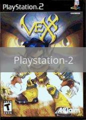 Image of Vexx original video game for Playstation 2 classic game system. Rocket City Arcade, Huntsville Al. We ship used video games Nationwide