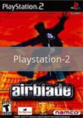 Image of Airblade original video game for Playstation 2 classic game system. Rocket City Arcade, Huntsville Al. We ship used video games Nationwide