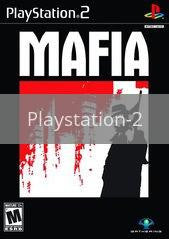 Image of Mafia original video game for Playstation 2 classic game system. Rocket City Arcade, Huntsville Al. We ship used video games Nationwide
