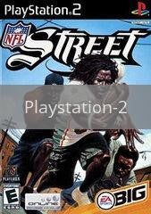 Image of NFL Street original video game for Playstation 2 classic game system. Rocket City Arcade, Huntsville Al. We ship used video games Nationwide