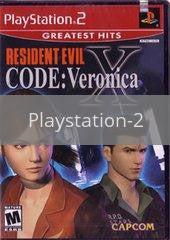 Image of Resident Evil Code Veronica X original video game for Playstation 2 classic game system. Rocket City Arcade, Huntsville Al. We ship used video games Nationwide