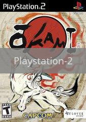 Image of Okami original video game for Playstation 2 classic game system. Rocket City Arcade, Huntsville Al. We ship used video games Nationwide