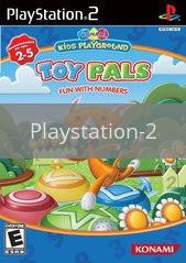 Image of Konami Kids Playground: Toy Pals Fun with Numbers original video game for Playstation 2 classic game system. Rocket City Arcade, Huntsville Al. We ship used video games Nationwide