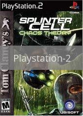 Image of Splinter Cell Chaos Theory original video game for Playstation 2 classic game system. Rocket City Arcade, Huntsville Al. We ship used video games Nationwide