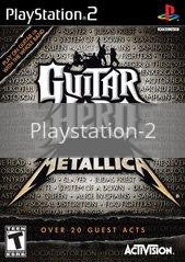 Image of Guitar Hero: Metallica original video game for Playstation 2 classic game system. Rocket City Arcade, Huntsville Al. We ship used video games Nationwide