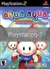 Image of Aqua Aqua original video game for Playstation 2 classic game system. Rocket City Arcade, Huntsville Al. We ship used video games Nationwide