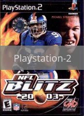 Image of NFL Blitz 2003 original video game for Playstation 2 classic game system. Rocket City Arcade, Huntsville Al. We ship used video games Nationwide