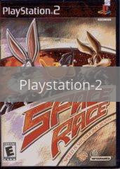 Image of Looney Tunes Space Race original video game for Playstation 2 classic game system. Rocket City Arcade, Huntsville Al. We ship used video games Nationwide