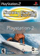 Image of Sunny Garcia Surfing original video game for Playstation 2 classic game system. Rocket City Arcade, Huntsville Al. We ship used video games Nationwide