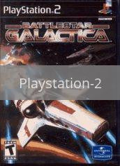 Image of Battlestar Galactica original video game for Playstation 2 classic game system. Rocket City Arcade, Huntsville Al. We ship used video games Nationwide