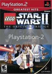 Image of LEGO Star Wars II Original Trilogy original video game for Playstation 2 classic game system. Rocket City Arcade, Huntsville Al. We ship used video games Nationwide