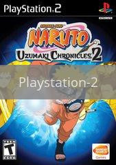 Image of Naruto Uzumaki Chronicles 2 original video game for Playstation 2 classic game system. Rocket City Arcade, Huntsville Al. We ship used video games Nationwide