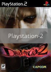 Image of Devil May Cry 2 original video game for Playstation 2 classic game system. Rocket City Arcade, Huntsville Al. We ship used video games Nationwide