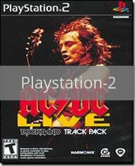 Image of AC/DC Live Rock Band Track Pack original video game for Playstation 2 classic game system. Rocket City Arcade, Huntsville Al. We ship used video games Nationwide