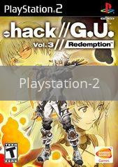 Image of .hack Redemption original video game for Playstation 2 classic game system. Rocket City Arcade, Huntsville Al. We ship used video games Nationwide