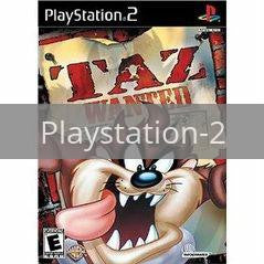 Image of Taz Wanted original video game for Playstation 2 classic game system. Rocket City Arcade, Huntsville Al. We ship used video games Nationwide