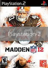Image of Madden NFL 12 original video game for Playstation 2 classic game system. Rocket City Arcade, Huntsville Al. We ship used video games Nationwide