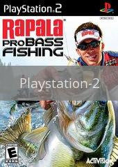 Image of Rapala Pro Bass Fishing 2010 original video game for Playstation 2 classic game system. Rocket City Arcade, Huntsville Al. We ship used video games Nationwide