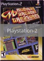 Image of Midway Arcade Treasures original video game for Playstation 2 classic game system. Rocket City Arcade, Huntsville Al. We ship used video games Nationwide