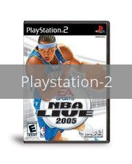 Image of NBA Live 2005 original video game for Playstation 2 classic game system. Rocket City Arcade, Huntsville Al. We ship used video games Nationwide