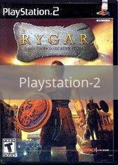 Image of Rygar original video game for Playstation 2 classic game system. Rocket City Arcade, Huntsville Al. We ship used video games Nationwide