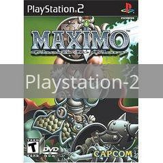 Image of Maximo Ghosts to Glory original video game for Playstation 2 classic game system. Rocket City Arcade, Huntsville Al. We ship used video games Nationwide