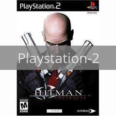 Image of Hitman Contracts original video game for Playstation 2 classic game system. Rocket City Arcade, Huntsville Al. We ship used video games Nationwide