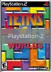 Image of Tetris Worlds original video game for Playstation 2 classic game system. Rocket City Arcade, Huntsville Al. We ship used video games Nationwide