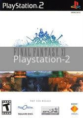 Image of Final Fantasy XI original video game for Playstation 2 classic game system. Rocket City Arcade, Huntsville Al. We ship used video games Nationwide