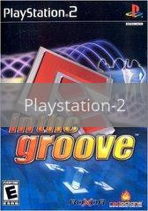 Image of In the Groove original video game for Playstation 2 classic game system. Rocket City Arcade, Huntsville Al. We ship used video games Nationwide