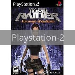 Image of Tomb Raider Angel of Darkness original video game for Playstation 2 classic game system. Rocket City Arcade, Huntsville Al. We ship used video games Nationwide