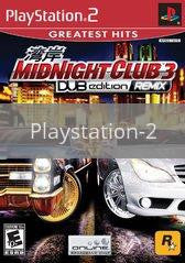 Image of Midnight Club 3 Dub Edition Remix original video game for Playstation 2 classic game system. Rocket City Arcade, Huntsville Al. We ship used video games Nationwide