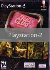 Image of Fight Club original video game for Playstation 2 classic game system. Rocket City Arcade, Huntsville Al. We ship used video games Nationwide