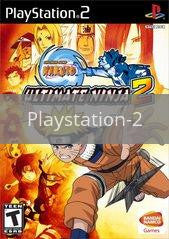 Image of Naruto Ultimate Ninja 2 original video game for Playstation 2 classic game system. Rocket City Arcade, Huntsville Al. We ship used video games Nationwide