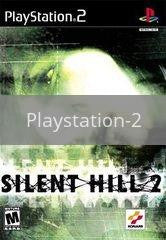 Image of Silent Hill 2 original video game for Playstation 2 classic game system. Rocket City Arcade, Huntsville Al. We ship used video games Nationwide