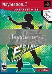 Image of Dance Dance Revolution Extreme original video game for Playstation 2 classic game system. Rocket City Arcade, Huntsville Al. We ship used video games Nationwide