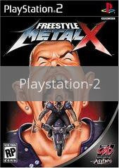 Image of Freestyle Metal X original video game for Playstation 2 classic game system. Rocket City Arcade, Huntsville Al. We ship used video games Nationwide