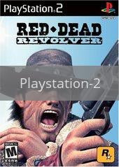 Image of Red Dead Revolver original video game for Playstation 2 classic game system. Rocket City Arcade, Huntsville Al. We ship used video games Nationwide
