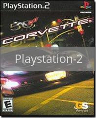 Image of Corvette original video game for Playstation 2 classic game system. Rocket City Arcade, Huntsville Al. We ship used video games Nationwide