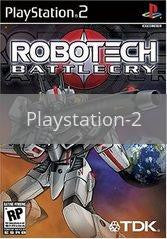 Image of Robotech Battlecry original video game for Playstation 2 classic game system. Rocket City Arcade, Huntsville Al. We ship used video games Nationwide