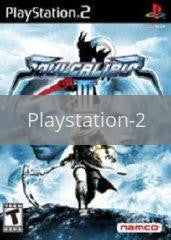Image of Soul Calibur III original video game for Playstation 2 classic game system. Rocket City Arcade, Huntsville Al. We ship used video games Nationwide