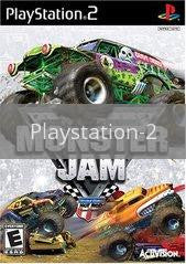 Image of Monster Jam original video game for Playstation 2 classic game system. Rocket City Arcade, Huntsville Al. We ship used video games Nationwide