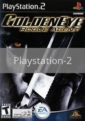Image of Goldeneye Rogue Agent original video game for Playstation 2 classic game system. Rocket City Arcade, Huntsville Al. We ship used video games Nationwide