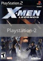 Image of X-men Legends original video game for Playstation 2 classic game system. Rocket City Arcade, Huntsville Al. We ship used video games Nationwide