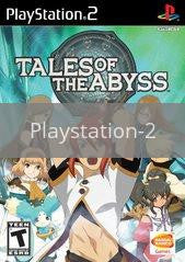 Image of Tales of the Abyss original video game for Playstation 2 classic game system. Rocket City Arcade, Huntsville Al. We ship used video games Nationwide