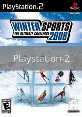 Image of Winter Sports: The Ultimate Challenge 2008 original video game for Playstation 2 classic game system. Rocket City Arcade, Huntsville Al. We ship used video games Nationwide